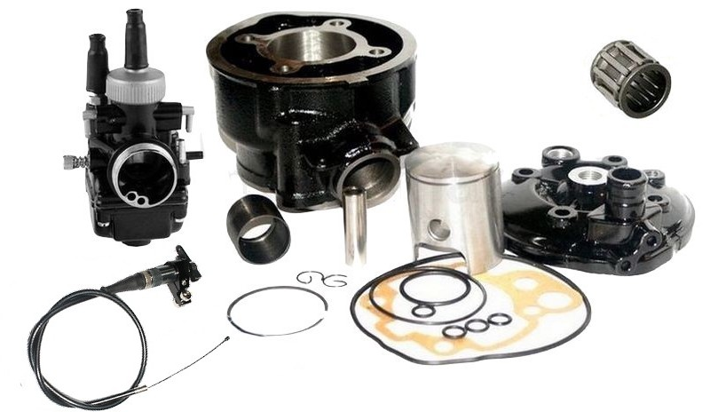 Details about TUNING 90cc CYLINDER CARBURETTOR +S6 KIT for YAMAHA DT50 DT R  X SM 50 AM6 B